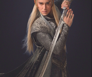 the hobbit, thranduil, and lee pace image
