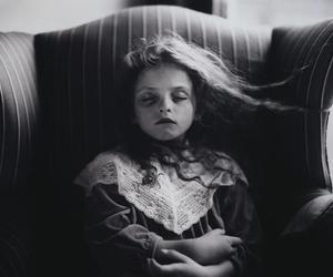girl, black and white, and sally mann image