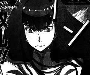 manga, kill la kill, and satsuki image