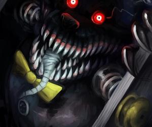 nightmare and fnaf 4 image