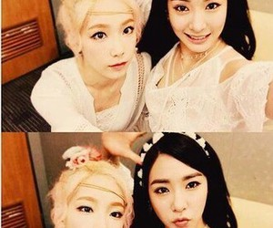 girls generation, tiffany, and taeyeon image