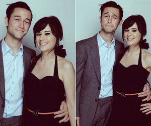 zooey deschanel, Joseph Gordon-Levitt, and 500 Days of Summer image