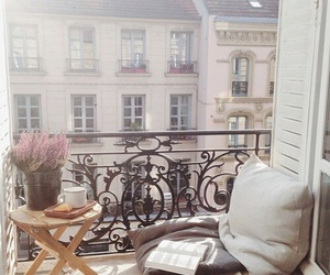 balcony, book, and home image