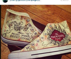 converse and harry potter image