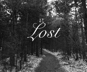 alone, lost, and path image