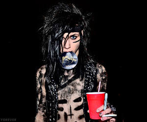 andy sixx, black veil brides, and andy biersack image