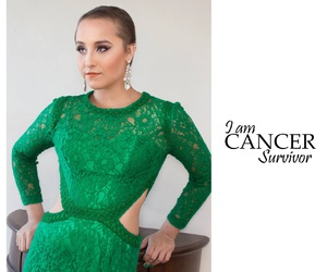 beautiful, cancer awareness, and fearless image