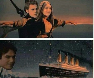 titanic, the vampire diaries, and tvd image