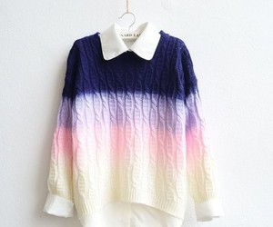 fashion, sweater, and pink image