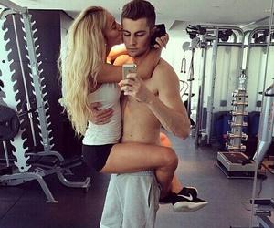 gym, tumblr, and kisses image