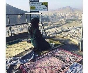hijab, prayer, and islam image