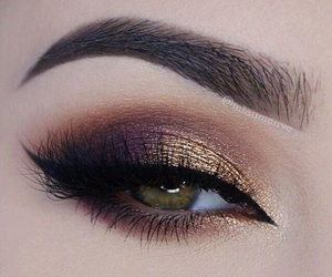 makeup, beauty, and eye image