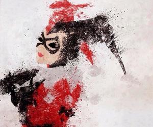 harley quinn, DC, and batman image