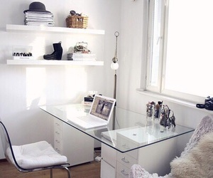 white, room, and decor image