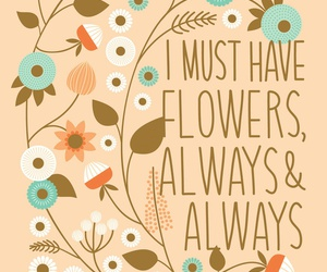 flowers, quotes, and monet image