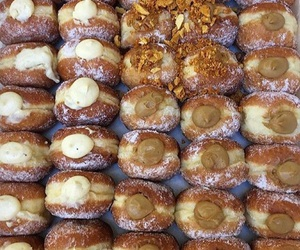 beige, dessert, and donuts image
