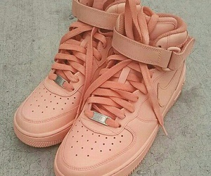 nike, shoes, and peach image