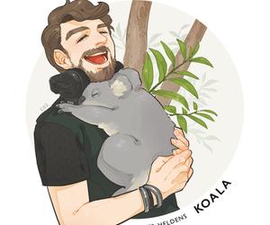 art, draw, and Koala image