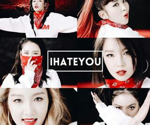 hate, kpop, and 4minute image