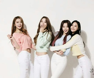 dal shabet, ahyoung, and woohee image