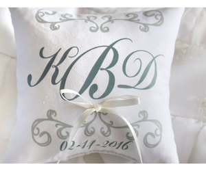 etsy, wedding rings, and wedding ring pillow image