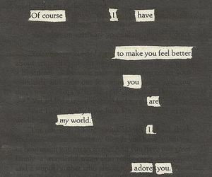 love, quotes, and adore image