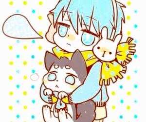kuroko no basket, anime, and chibi image