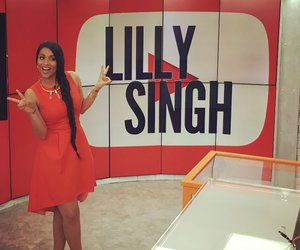 youtube, iisuperwomanii, and lilly singh image