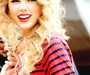 Taylor Swift, smile, and blonde image