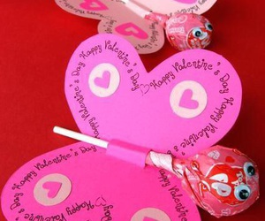 butterfly, diy, and valentine image