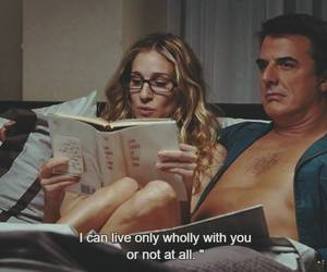 Carrie Bradshaw, Mr Big, and quotes image