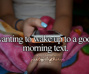 text and justgirlythings image