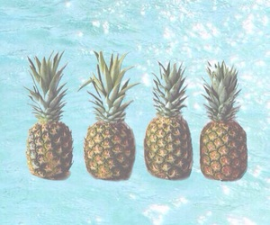 pineapple, summer, and wallpaper image