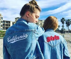 girls and california image