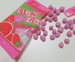 kawaii, strawberry, and pink image