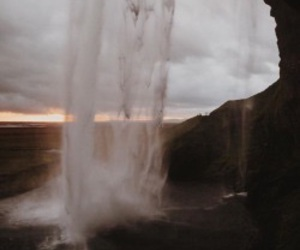 theme, waterfall, and aesthetic image