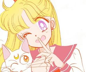 sailor moon, manga, and sailor venus image