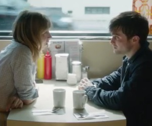 daniel radcliffe, what if, and Zoe Kazan image