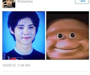 luhan and kpop memes image