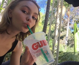 girl, lily rose depp, and model image