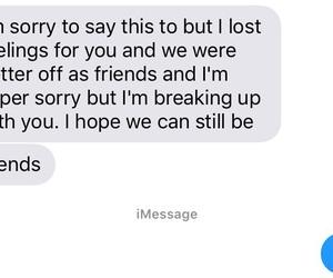 break up, heartbreak, and her image