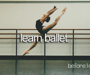 ballet and before i die image