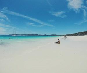 australia, beach, and paradise image