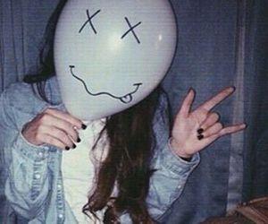 grunge, tumblr, and balloons image