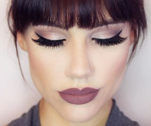 beauty, maquillage, and eyes image