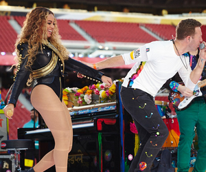 Chris Martin, queen bey, and coldplay image