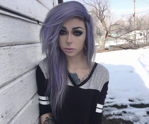 aesthetic, dyed hair, and i want to be her image