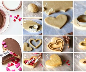 cookie, diy, and valentines day ideas image