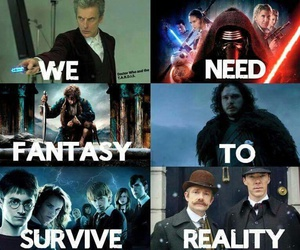doctor who, harry potter, and star wars image