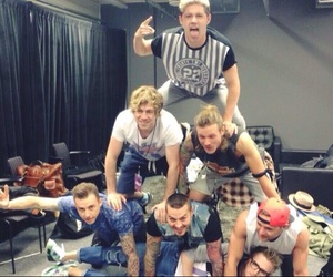 niall horan, one direction, and mcbusted image
